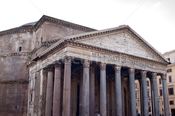The Pantheon, Rome, Italy Stock photo © bloodua