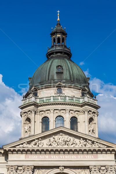 Сток-фото: базилика · Церкви · Будапешт · Венгрия · дома