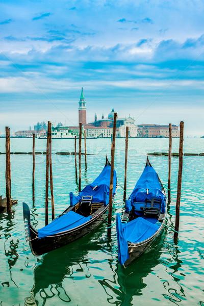 Grand Canal in Venice, Italy. San Giorgio Maggiore. - Stock photo © bloodua