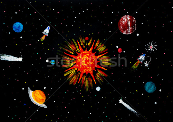 Solar system Stock photo © bloodua