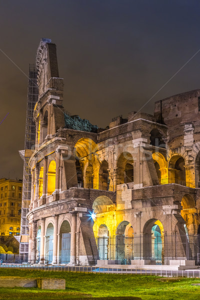 Colosseum at night in Rome, Italy Stock photo © bloodua