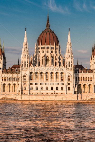 The building of the Parliament in Budapest, Hungary Stock photo © bloodua