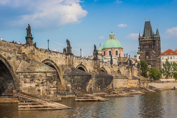 Stock photo: Charles bridge in Prague