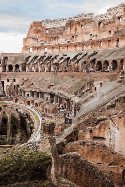 Rzym Włochy ikonowy legendarny budynku Zdjęcia stock © bloodua