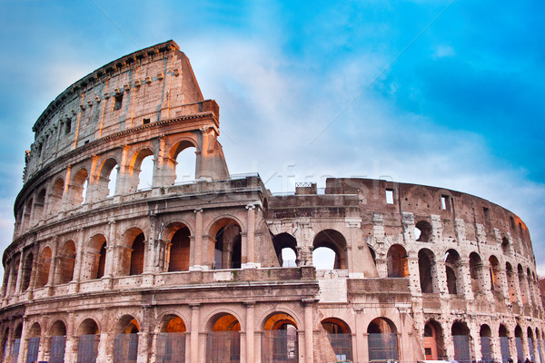 Colosseum in Rome, Italy Stock photo © bloodua