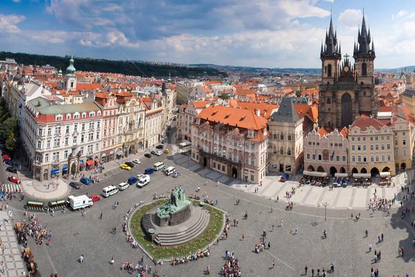 Сток-фото: Прага · город · Панорама · один · красивой · Европа