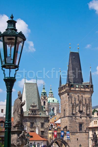 Prague. Charles Bridge in Prague  Czech Republic Stock photo © bloodua