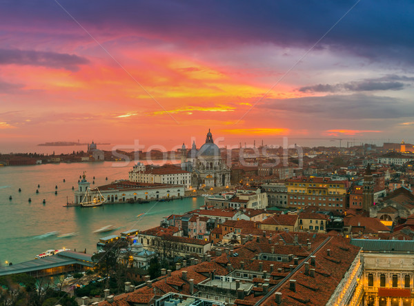 View of Basilica di Santa Maria della Salute,Venice, Italy Stock photo © bloodua