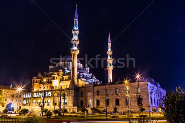 мечети Стамбуле Турция просветление рамадан Сток-фото © bloodua