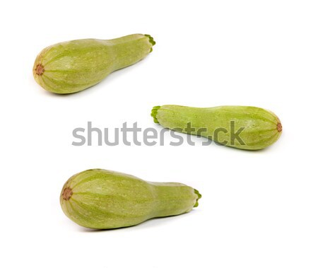 set of Courgette/zucchini. Isolated on white. Stock photo © bloodua