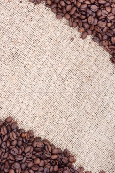 Rosolare chicchi di caffè shot studio cioccolato Foto d'archivio © bloodua