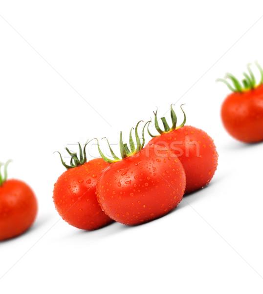 On bir kırmızı yalıtılmış beyaz doğa meyve Stok fotoğraf © bloodua