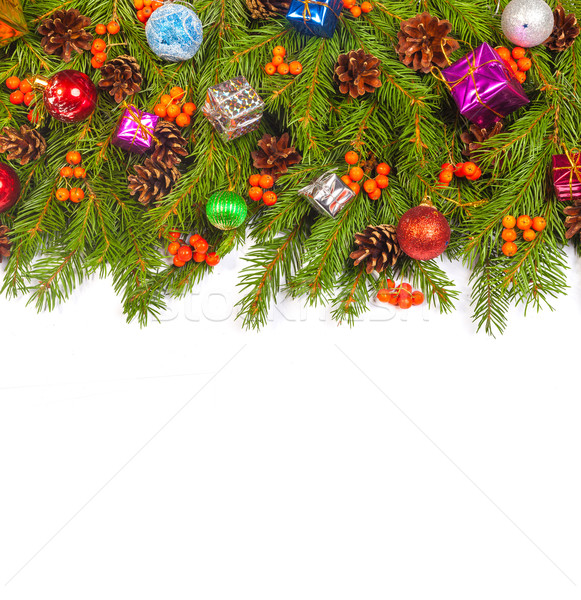 Christmas background. Eve framework Stock photo © bloodua
