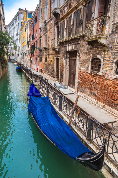 Gondolier on  the Grand Canal Stock photo © bloodua