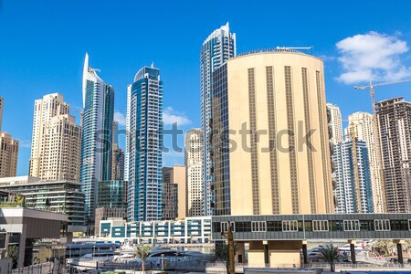 Dubai centro Emirati Arabi Uniti architettura 14 giorno Foto d'archivio © bloodua