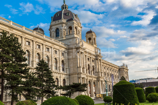 Museum of Natural History in Vienna, Austria Stock photo © bloodua