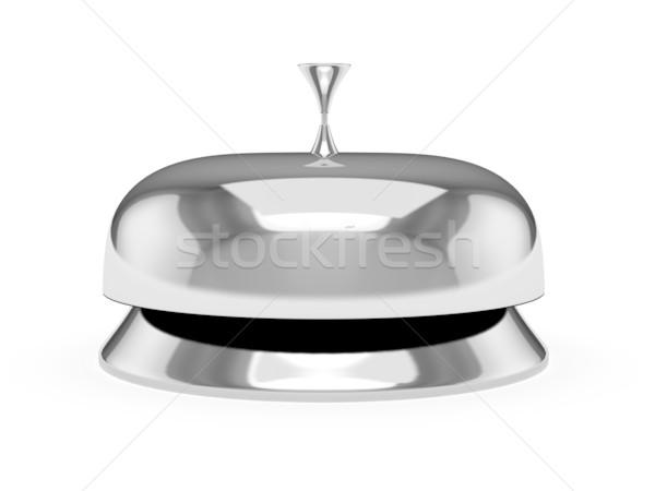 Servizio campana isolato bianco computer generato Foto d'archivio © blotty
