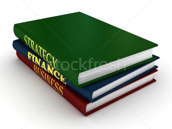 Stack of books Stock photo © blotty