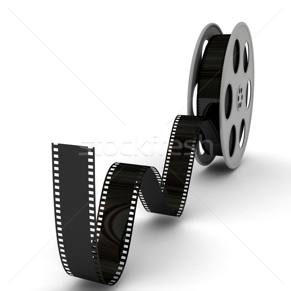 Movie Film Reel Stock photo © blotty