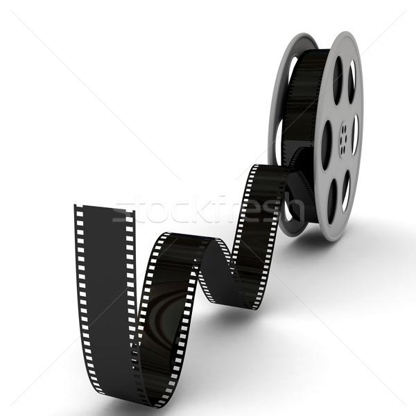 Film filmszalag 3D renderelt kép keret Stock fotó © blotty