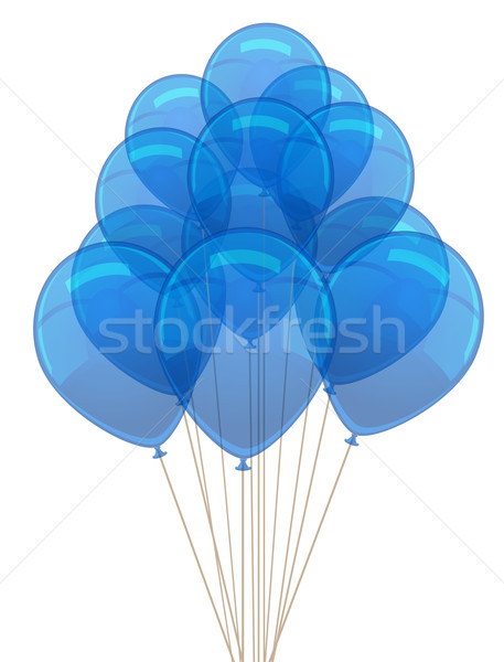 Vector ballon for party, birthday Stock photo © blotty