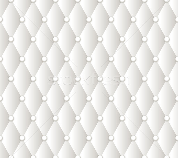 Vector abstract white upholstery background. Stock photo © blotty