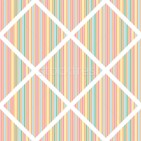 シームレス 抽象的な デザイン 青 紙 フレーム ストックフォト © blotty