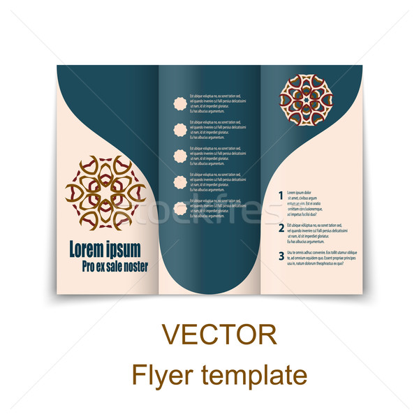 Vector  brochure or magazine cover  template Stock photo © blotty
