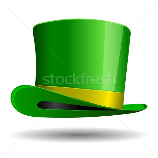 Green St. Patrick's Day hat.  Stock photo © blotty