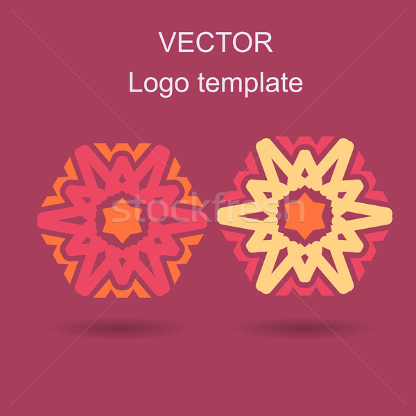 Resumen logo vector plantilla de diseño negocios creativa Foto stock © blotty