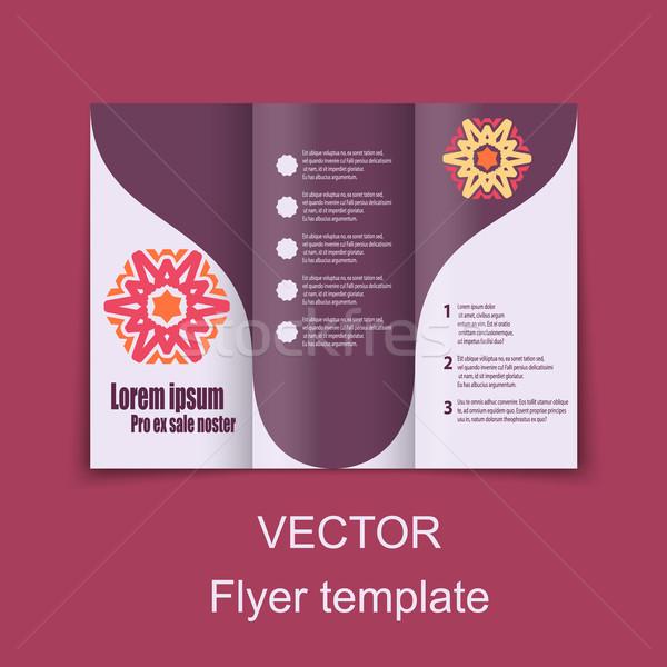 パンフレット デザイン 社会 インフォグラフィック 図 プレゼンテーション ストックフォト © blotty