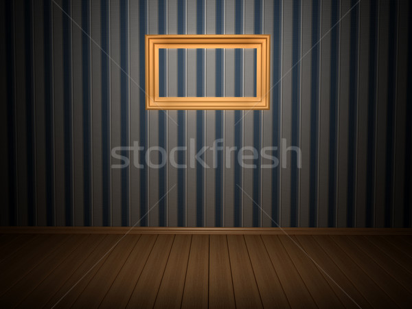 Room with frame Stock photo © blotty