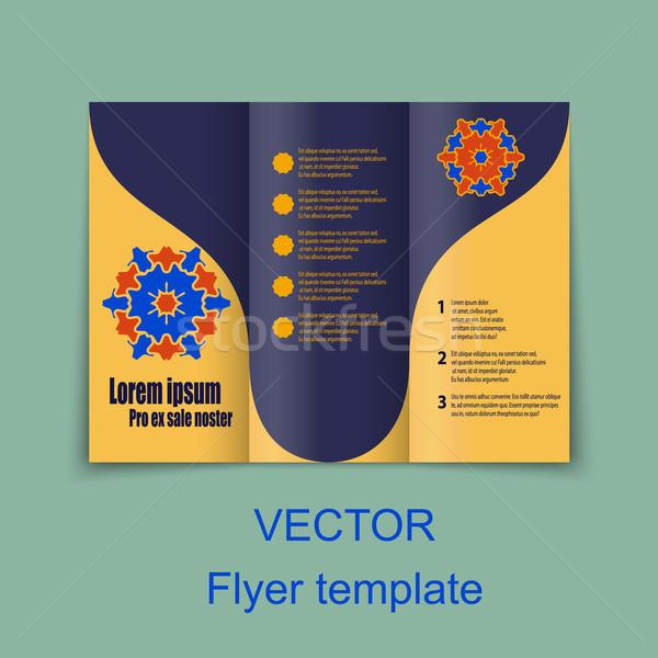 Vector Brochure Layout Design Template Stock photo © blotty