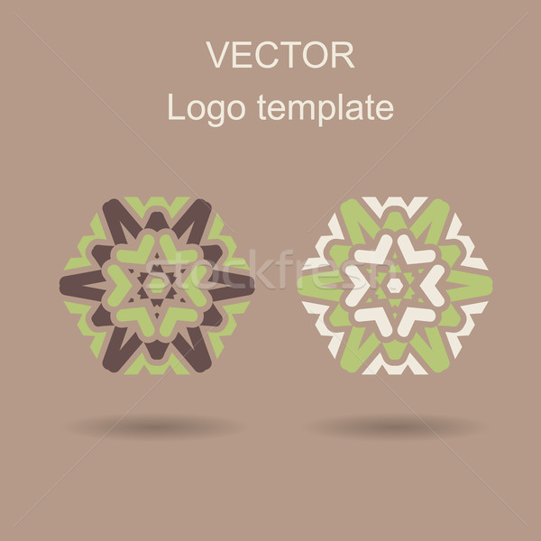 Abstrato logotipo vetor modelo de design negócio criador Foto stock © blotty