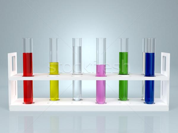 色 液体 コンピュータ 生成された 水 技術 ストックフォト © blotty
