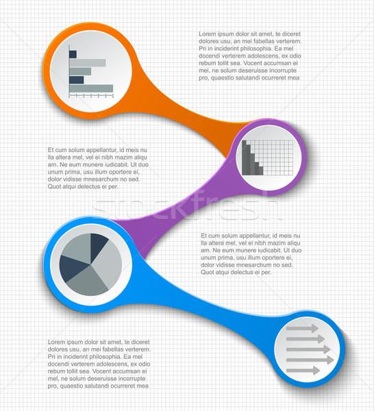 チームワーク 社会 インフォグラフィック 図 プレゼンテーション レイアウト ストックフォト © blotty