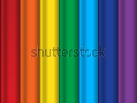 Bright abstract vector rainbow background Stock photo © blotty