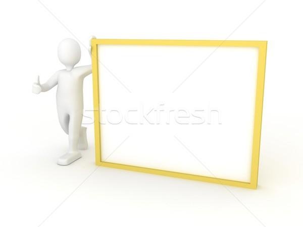 ストックフォト: 3dの人 · ポスター · 3dのレンダリング · デザイン · 旅行 · カード
