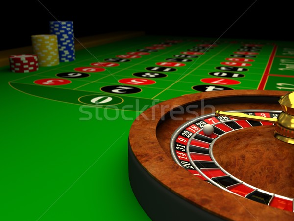 Casino Roulette Stock photo © blotty