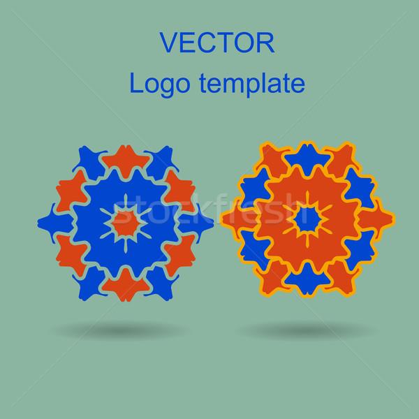 抽象的な ロゴ ベクトル デザインテンプレート ビジネス 創造 ストックフォト © blotty