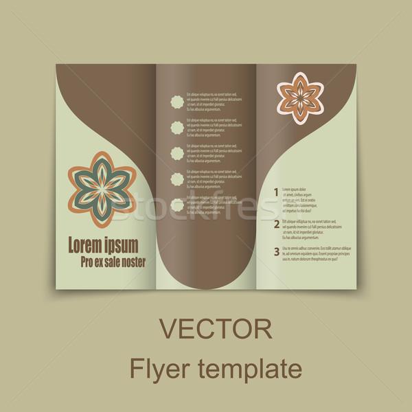 брошюр дизайна социальной диаграмма презентация Сток-фото © blotty
