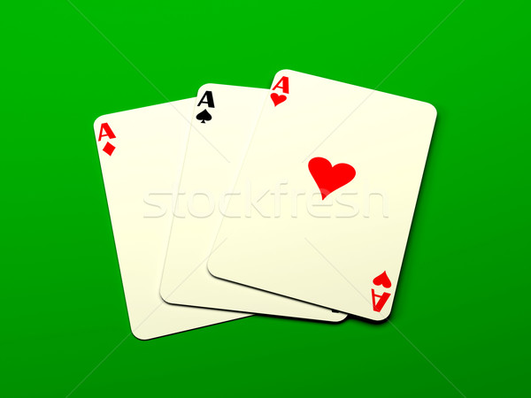 Playing cards Stock photo © blotty
