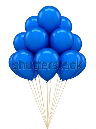 Red ballon for party, birthday Stock photo © blotty