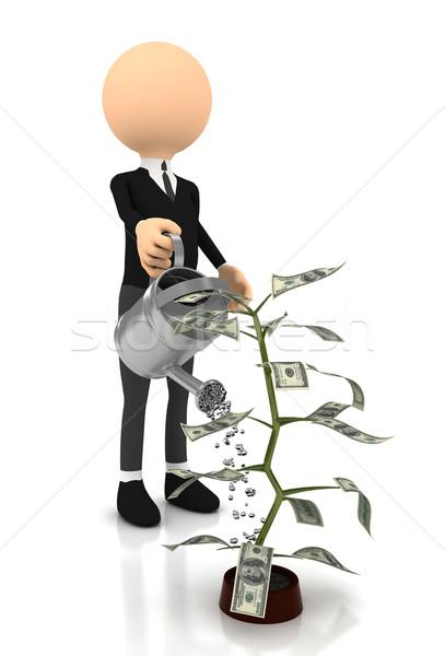 деньги завода белый компьютер генерируется изображение Сток-фото © blotty