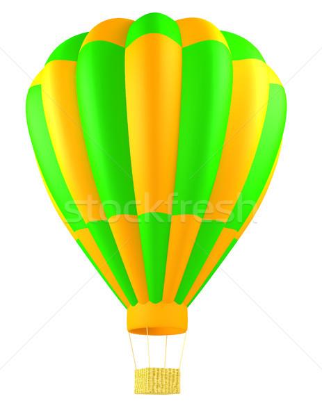 hot air balloon isolated Stock photo © blotty