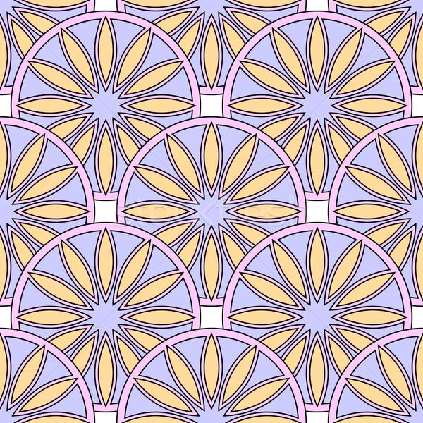 シームレス 抽象的な デザイン 紙 光 フレーム ストックフォト © blotty