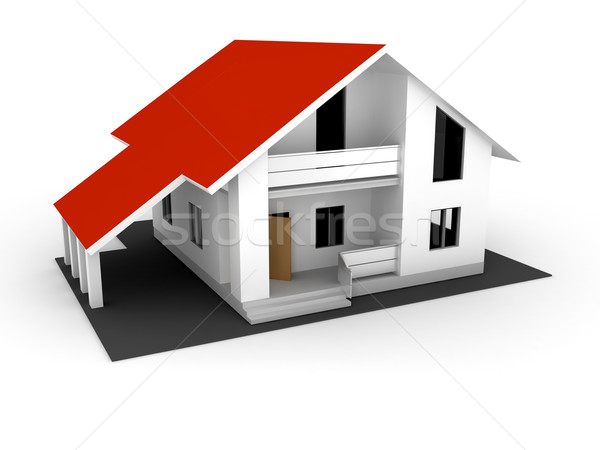 individual house for sale Stock photo © blotty