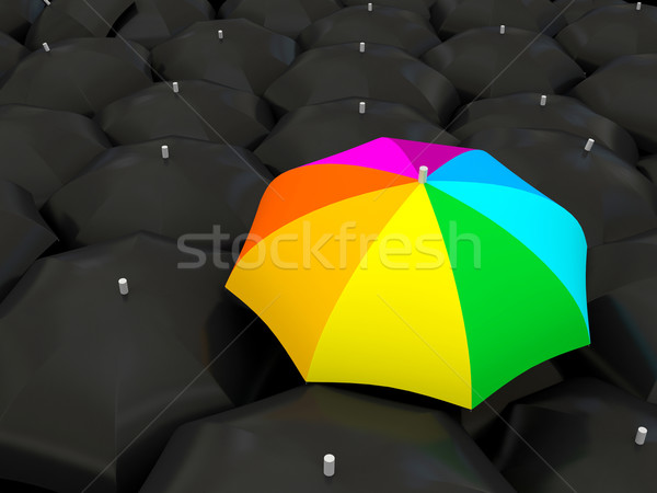 Color umbrella Stock photo © blotty