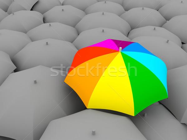 Color umbrella Stock photo © blotty