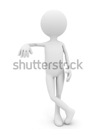 3 ª persona blanco plantilla de diseño negocios diseno Foto stock © blotty